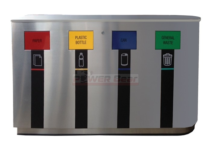 Angola Outdoor Office Recycling Bin