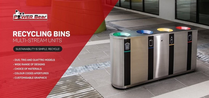 Recycling Bins – Multi Stream